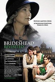 <i>Brideshead Revisited</i> (film) 2008 film by Julian Jarrold