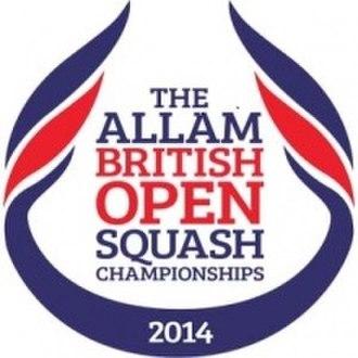 2014 Women's British Open Squash Championship - Image: British Open 2014 Logo