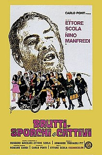 <i>Down and Dirty</i> (film) 1976 film by Ettore Scola