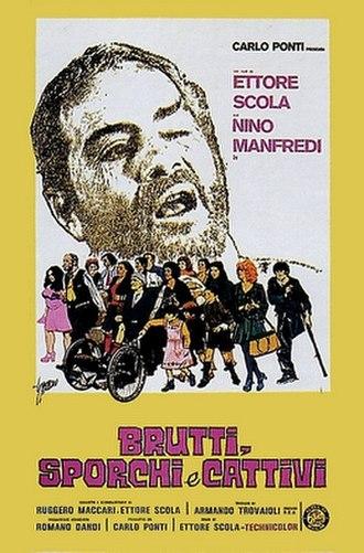 Down and Dirty (film) - Image: Brutti sporchi e cattivi