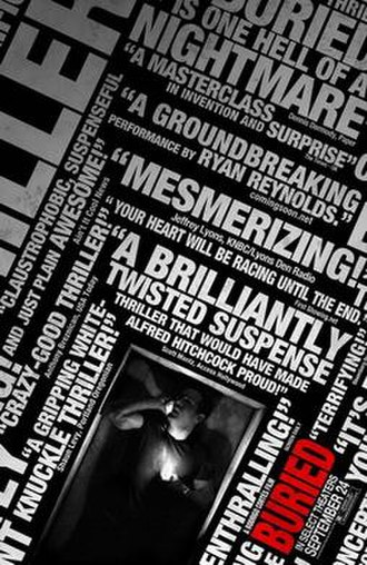 Buried (film) - Theatrical release poster
