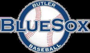 Butler BlueSox - Image: Butler Blue Sox Primary Logo