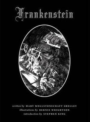 Bernie Wrightson's Frankenstein - Front Cover