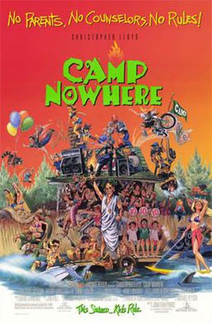 Camp Nowhere - Theatrical release poster
