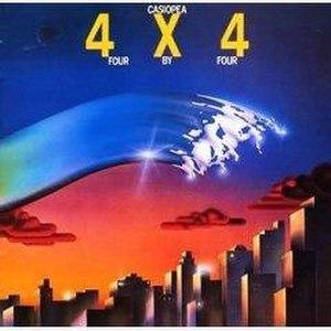 4x4 (Casiopea album) - Image: Casiopea 4x 4albumcover