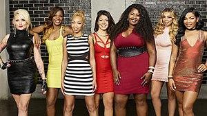 "Bad Girls Club (season 17) - The original seven ""Bad"" Girls of season 17 (left to right): Francesca, Keyaira, Deshayla, Sayyora, Kiyanna, Susan, and Seven."