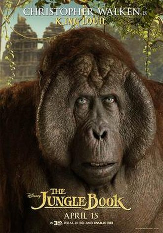 King Louie - King Louie, in promotional material for The Jungle Book (2016)