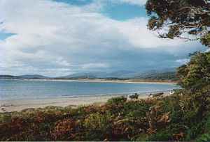 Cloudy Bay (Tasmania) - Image: Cloudy Bay 002