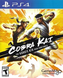 <i>Cobra Kai: The Karate Kid Saga Continues</i> 2020 video game based on TV series Cobra Kai