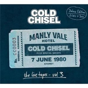 The Live Tapes Vol. 3 - Image: Cold Chisel The Live Tapes Vol 3