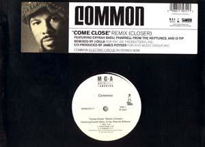"Come Close - ""Come Close Remix (Closer)"" 12-inch single"