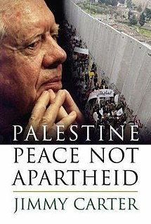 Commentary on <i>Palestine: Peace Not Apartheid</i>