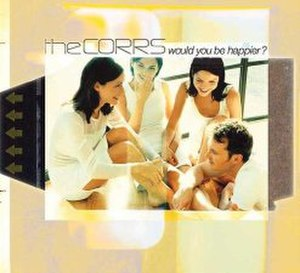 Would You Be Happier? - Image: Corrs Happier CD1