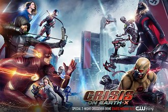 Crisis on Earth-X - Promotional poster and home media cover