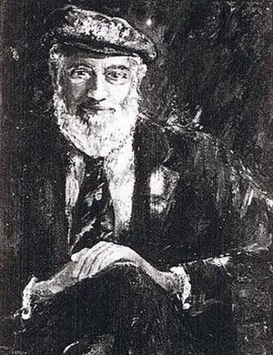 Cromwell Everson - Everson as painted by his wife Hermine Everson