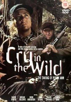Cry in the Wild: The Taking of Peggy Ann - DVD cover