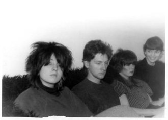 DA! (band) - L-R: Gaylene Goudreau, David Thomas, Dawn Fisher, Lorna Donley
