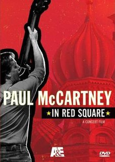 <i>Paul McCartney in Red Square</i> 2005 video by Paul McCartney