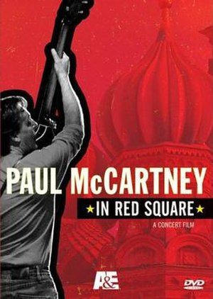 Paul McCartney in Red Square - Image: DVD In Red Square mccartney