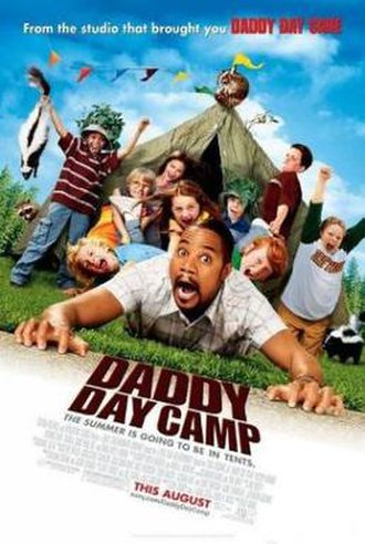Daddy Day Camp - Theatrical release poster