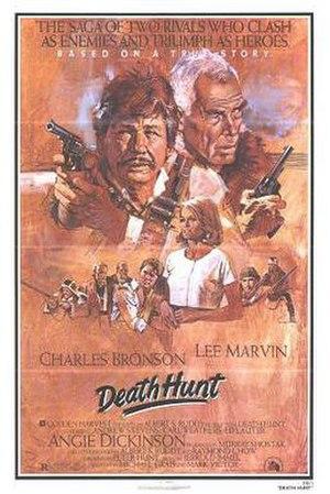 Death Hunt - Promotional poster