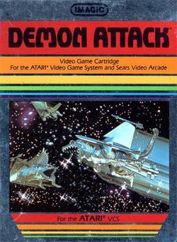 Demon Attack box art