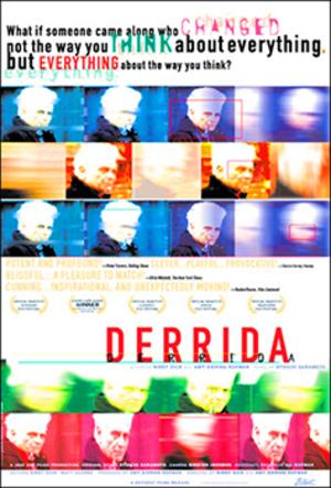 Derrida (film) - Image: Derrida Poster