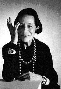 Diana Vreeland, the fashion icon.