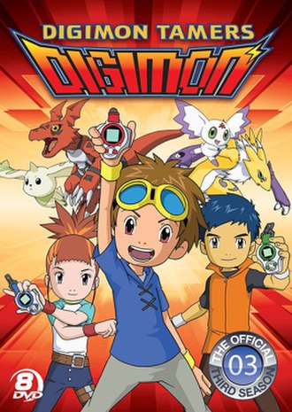 Digimon Tamers - Promotional poster