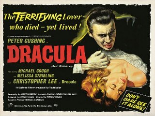 1958 British horror film by Terence Fisher