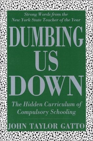 Dumbing Us Down - Cover of the 2002 edition
