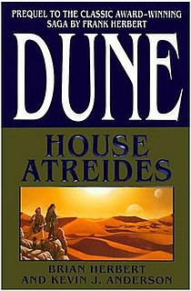 <i>Dune</i> prequel series Wikimedia list article