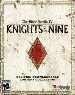 The Elder Scrolls IV: Knights of the Nine - Image: ESIV Expansion