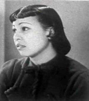Edna Mae Harris - Harris in Lying Lips, 1939.