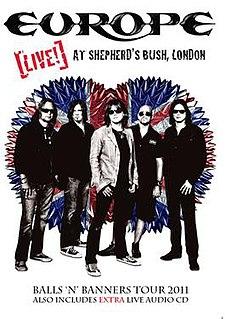 <i>Live! At Shepherds Bush, London</i> 2011 film