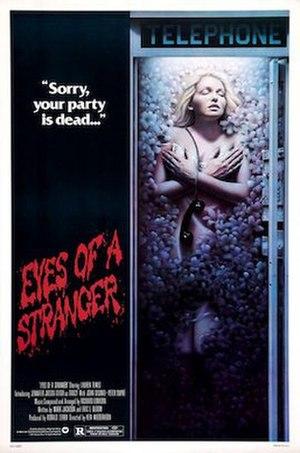 Eyes of a Stranger (1981 film) - Image: Eyes of a Stranger poster