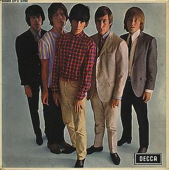 Five by Five (The Rolling Stones EP) - Image: Five by five