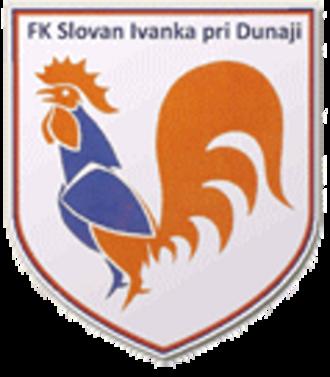 FK Slovan Ivanka pri Dunaji - Image: Fk slovan ivanka pri dunaji
