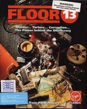 Floor 13 (video game) - Image: Floor 13cover