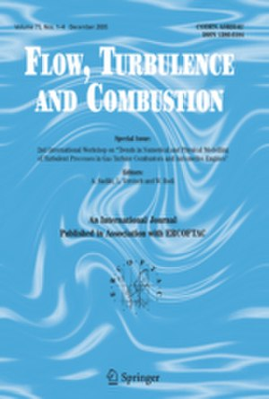 Flow, Turbulence and Combustion - Image: Flow, Turbulence and Combustion