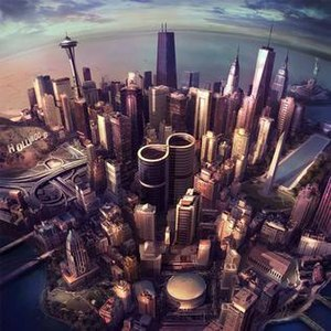 One World Trade Center in popular culture - Image: Foo Fighters 8LP Sonic Highways