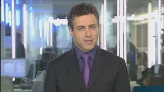 France 24 - Inaugural News presenter, François Picard