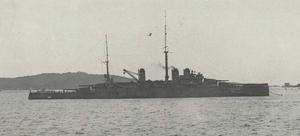 Courbet-class battleship - A Courbet-class ship in 1916