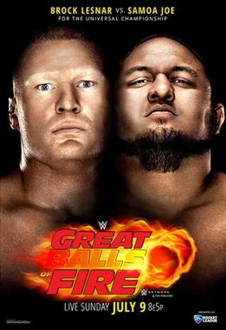 Post image of WWE Great Balls of Fire 2017