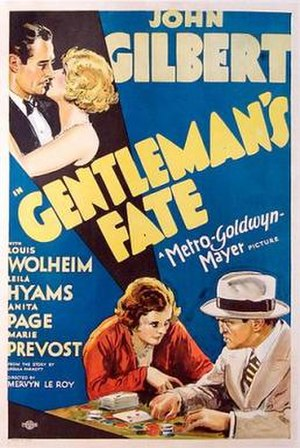 Gentleman's Fate - Theatrical release poster