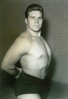 George Gordienko Canadian professional wrestler and artist