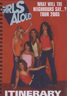 <i>What Will the Neighbours Say...? Tour</i> live album by Girls Aloud