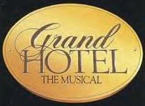Grand Hotel (musical) - Original Broadway Logo