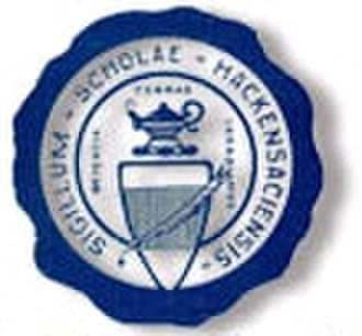 Hackensack High School - Image: Hackensack High School seal