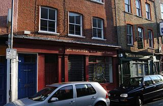 Hanbury Street road